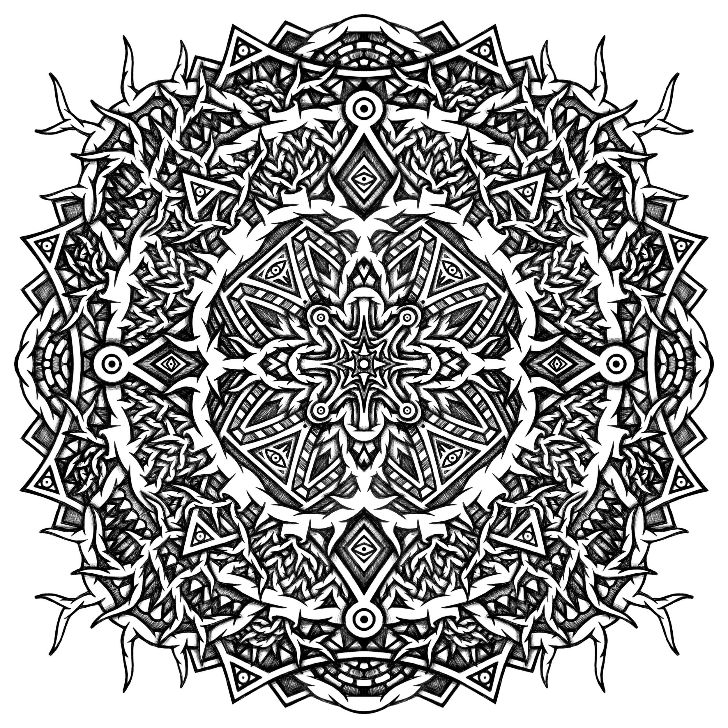 MANDALA geometry NEW2014